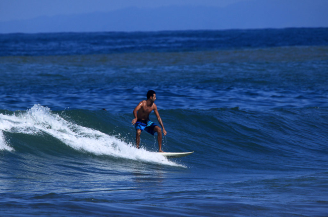 Jaco has consistent waves for all levels year-round.