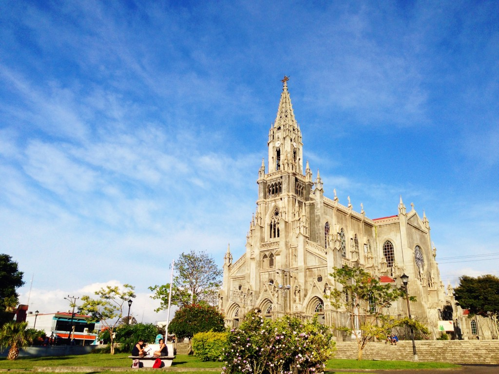The church is at the heart of Coronado, a short walk from the school.