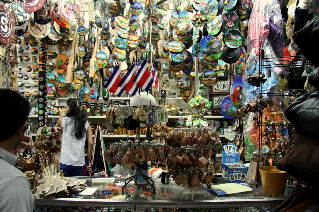 Just a few of the souvenirs at the Mercado Central in San Jose, Costa Rica.