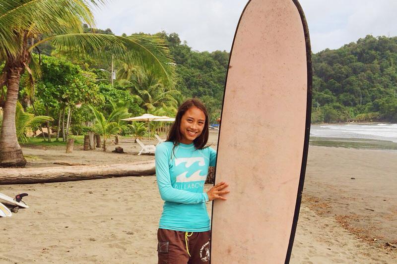 Let's go surfing! ¡Vamos a surfear!