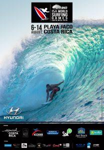 ISA World Surfing Games 2016 in Jacó Beach, Costa Rica
