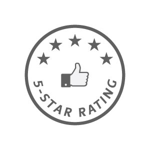 Rated 5 stars by our students on Facebook