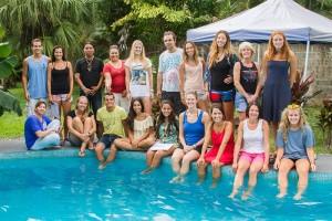 Spanish students at Academia Tica Jacó