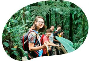 Students in the Spanish Traveling Classroom in Costa Rica