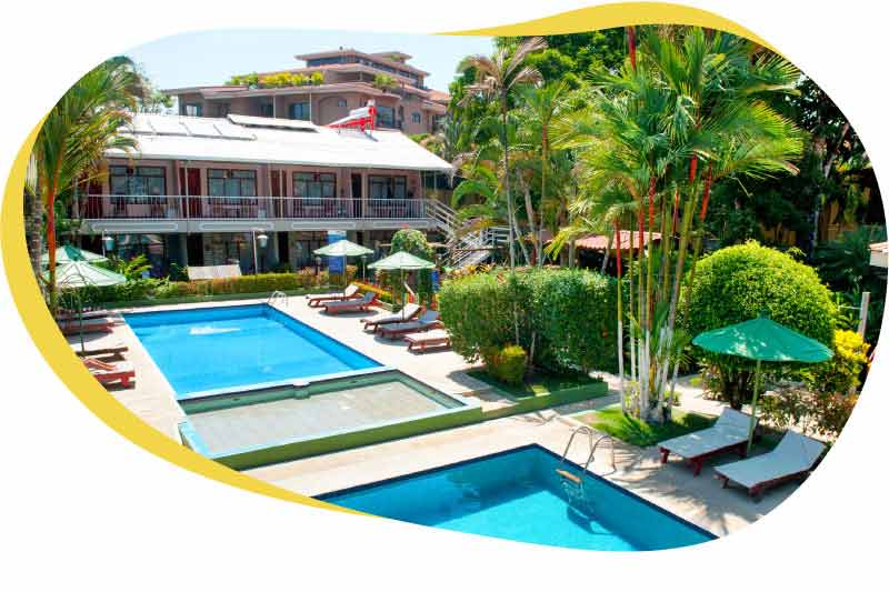 Hotels and hostels in Jacó Beach