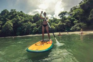 Stand up Paddle in Jacó Beach, Costa Rica