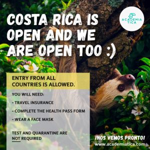 Costa Rica covid and travel situation update with a sloth (2021)