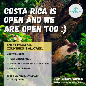 Costa Rica covid and travel situation update